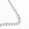 3 Meter 2mm Two Ringed Silver Chain for Jewelry Finding for Handmade Jewelry DIY-005
