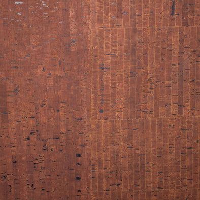 Mix cork rustic brown cork with strip brown cork fabric Portuguese cork fabric COF-295