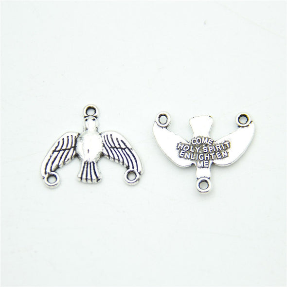 10 units Pendant antique silver bird Charms Pendants Jewelry Findings & Components D-3-320