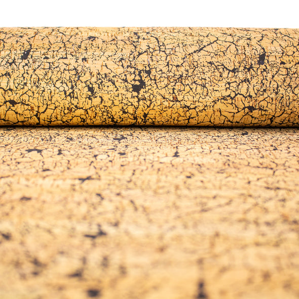 Cracked Soil Pattern Cork Fabric COF-246