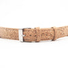 Cork watch strap natural color 18mm 20mm E-015
