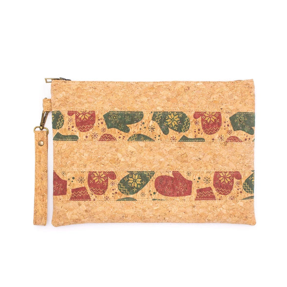 Envelope clutch purse Christmas Pattern BAGP-037-D