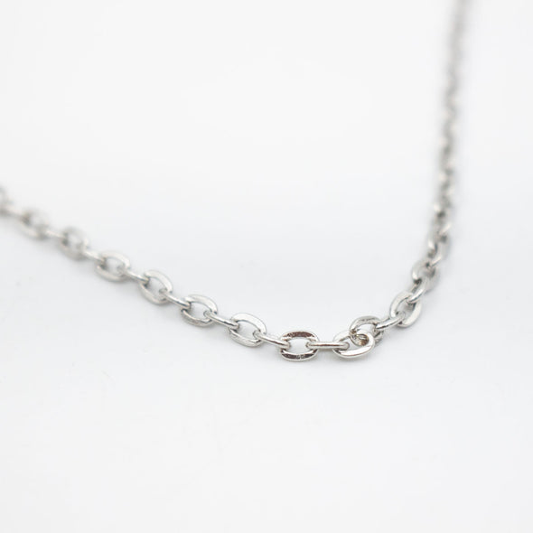 3 Meter 1mm Silver Chain for Jewelry Finding for Handmade Jewelry DIY-002