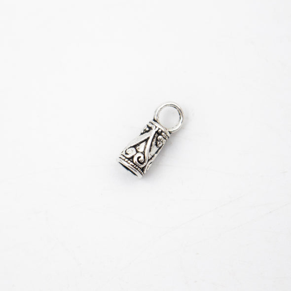 20pcs(set) Lobster clasp for 3mm leather,for necklace or bracelet clasp antique silver, jewelry finding supply D-6-215
