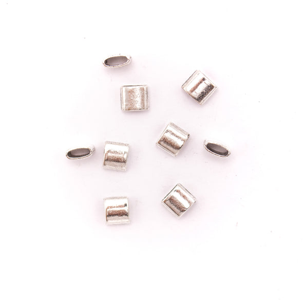 30 units for 9mm flat antique silver finding for bracelet jewelry finding suppliers D-1-5-65