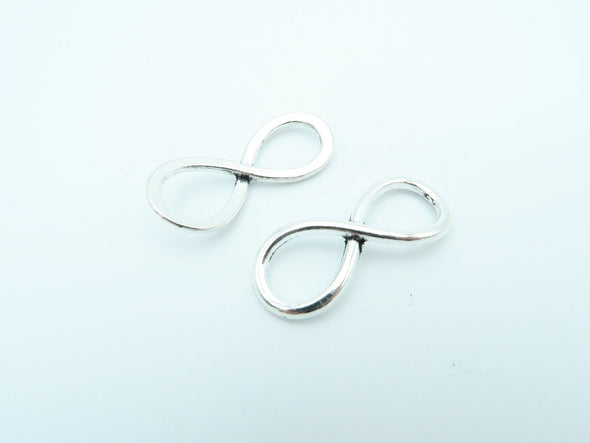 10 Pcs Antique Brass /silver Infinity jewelry supplies jewelry finding D-3-6