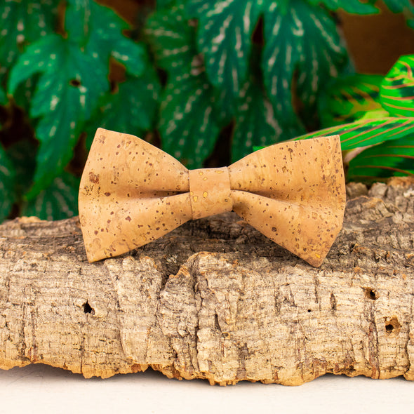 Cork Bow Tie  For Men Wedding  Party Accessories L-039