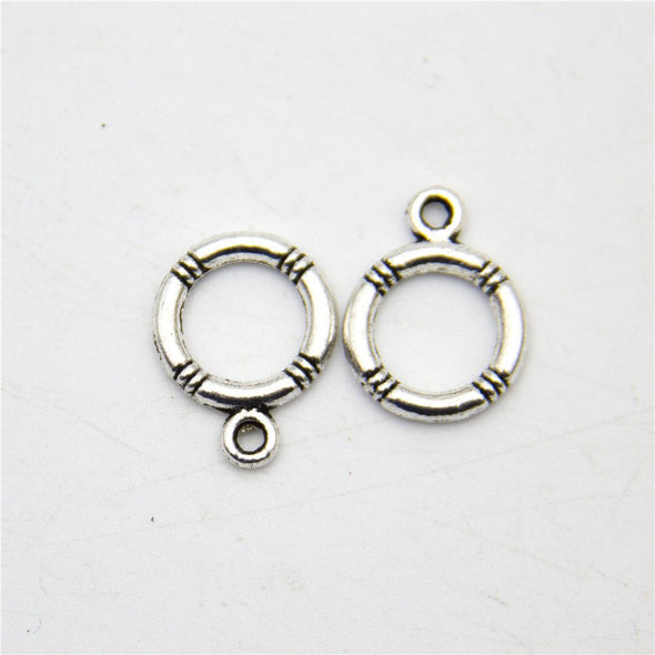 20pcs toggle clasp OT Clasp antique sliver jewelry finding supply D-6-156
