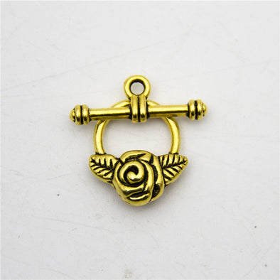 10pcs toggle clasp OT Clasp antique glod jewelry finding supply D-6-157
