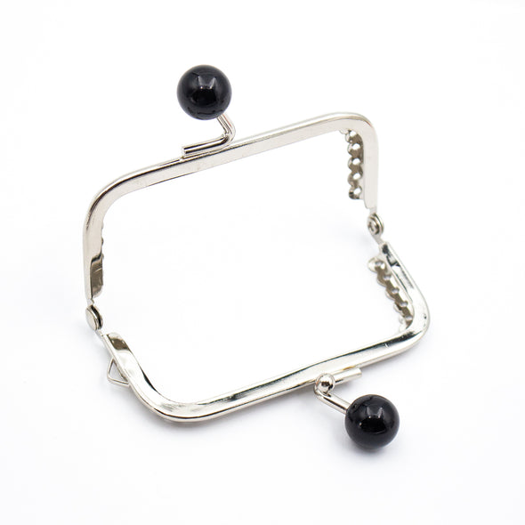 9cm*6cm- Silver Closure Frame with Colourful Levers D-7-16