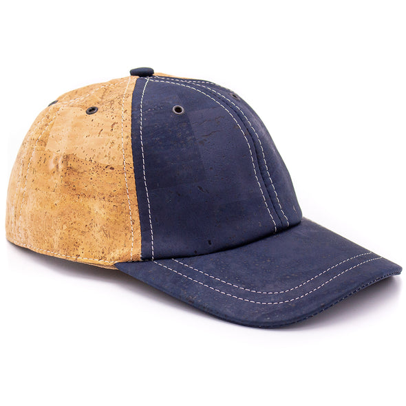 Dual color cork Baseball cap L-509