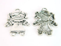 10 Pcs Antique Silver Girl pendant  jewelry supplies jewelry finding D-3-47