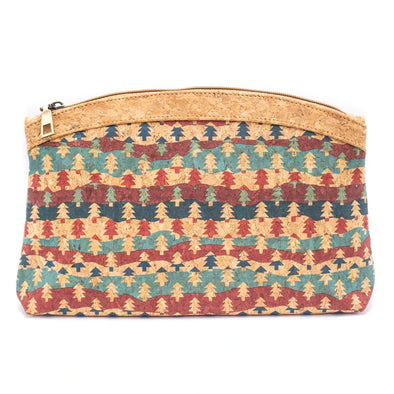 Christmas Pattern handy pouch,  BAGP-039-F