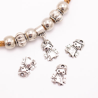 50 units 9x13mm  Pendant antique silver angel Necklace  jewelry pendant Jewelry Findings  D-3-469