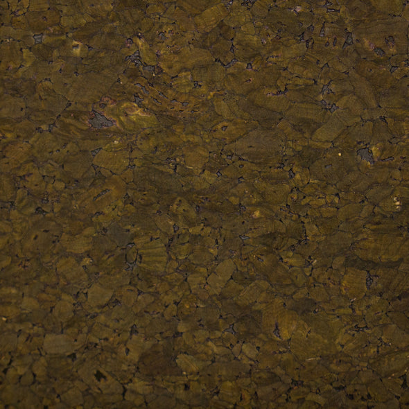 Dark green cork textile sheet Portuguese cork fabric Agglomerate black COF-357