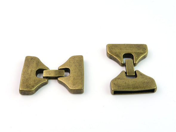 10Pcs for 25mm flat leather snap clasp brass, jewelry supplies jewelry finding D-6-30