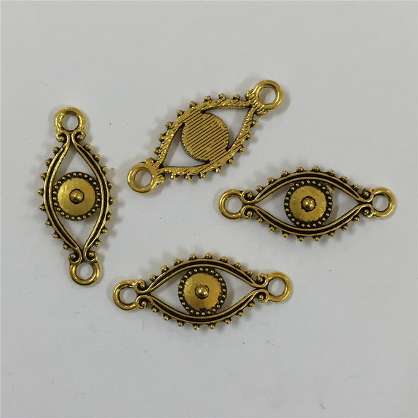 Jewelry findings 20 PcsGolden Eye Bracelet Accessories Supplies jewelry finding D-3-163