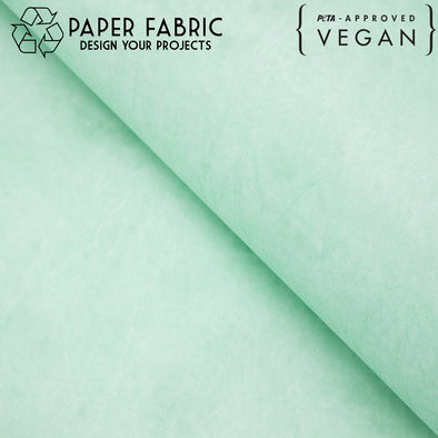 Light green washable paper fabric kraft paper 100x100cm PAF-26