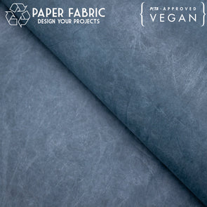 Blue washable paper fabric kraft paper 100x100cm PAF-30