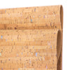 Natural with color cork fabric cork cork leather sheets COF-413