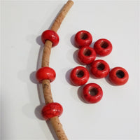 20 units for 5mm round red turquoise beads jewelry supplies jewelry finding D-5-5-58