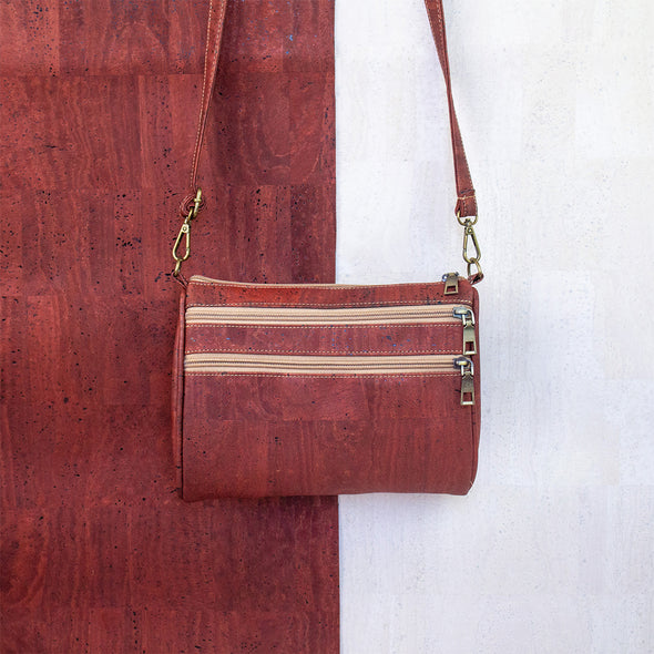 Color cork women winter cork crossbody bag BAGP-028