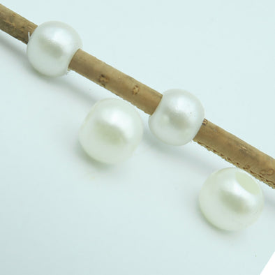 100 Pcs for 3mm round leather white man-made Pearl beads jewelry supplies jewelry finding D-5-3-24