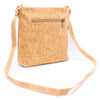 Natural cork with pattern women backpack BAGP-323(Random pattern)