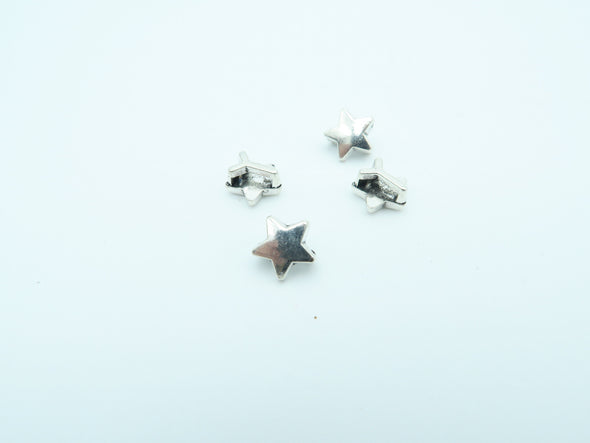 20pcs For 5mm flat leather, Antique silver Star, jewelry supplies jewelry finding D-1-5-1