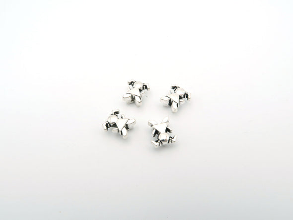 20 Pcs For 5mm flat leather,Antique silver Girl jewelry supplies jewelry finding D-1-5-4