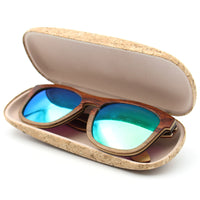 Cork glass case Sunglasses case box  L-006