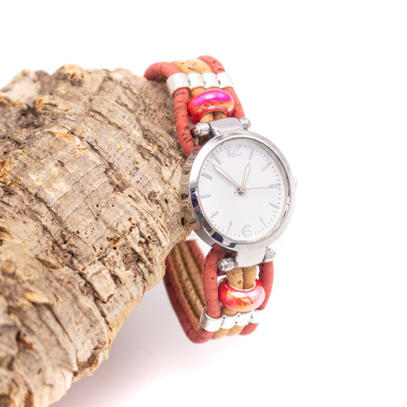 Handmade cork watch for women WA-151(NEW)