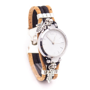 Handmade cork watch for women WA-156(NEW)
