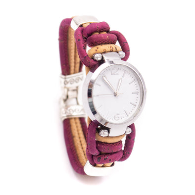 Handmade cork watch for women WA-157(NEW)