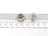 10pcs For 10mm flat leather  Antique Silver Daisy jewelry supplies jewelry finding D-1-10-100