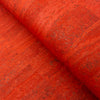Dark Orange Portuguese Cork fabric  COF-129