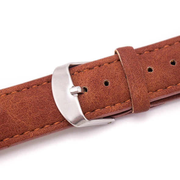 For 20mm PU Leather watch strap SE-04
