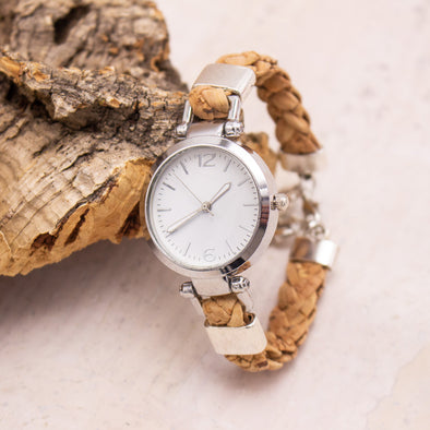 Handmade cork watch for women WA-149(NEW)
