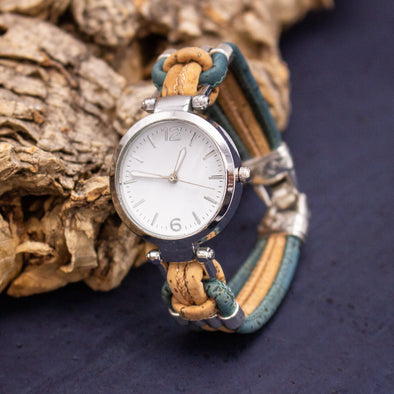 Handmade cork watch for women WA-153(NEW)
