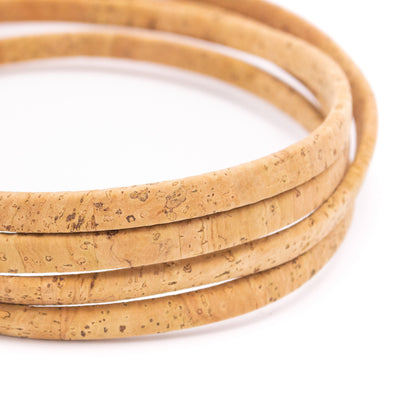 Environmentally Friendly and Organic,Various Sizes and Styles Available COR 381 Natural and Vegan Cork Cord jewellery making and design
