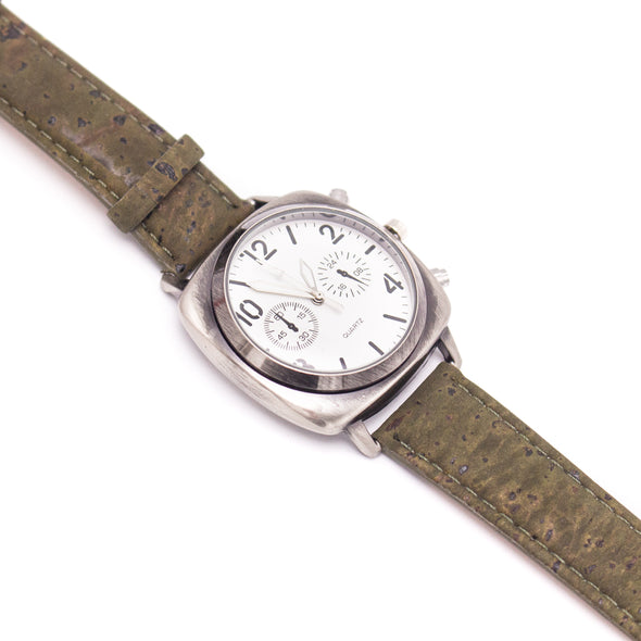 20mm multiple colour cork strap with  watch for men  and women watch WA-174-BOX-B