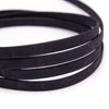 10 meters Black 10mm flat cork cord cor-311