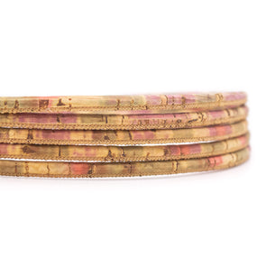 10 meters Burn style 5mm round cork cord COR-559