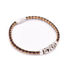 Natural 3mm round Cork with zamak animal  beads handmade bracelet for women jewelry bracelet jewelry BR-452-5