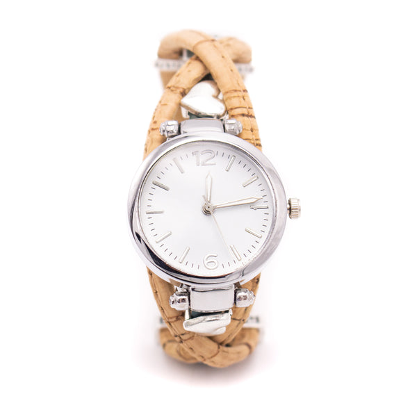 Handmade cork watch for women WA-145
