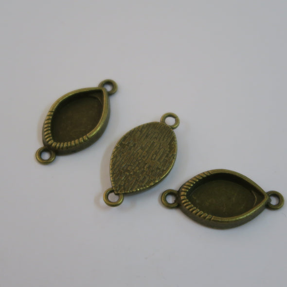 10 Pcs Antique BRASS jewelry supplies jewelry finding D-3-209