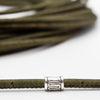10 meters Dark green 3mm  Cork Cord COR-365