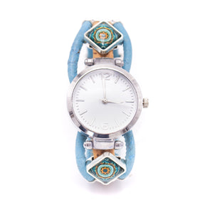 Handmade cork watch for women WA-148
