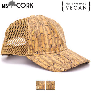 Stripe Cork hat natural cork Baseball cap L-507