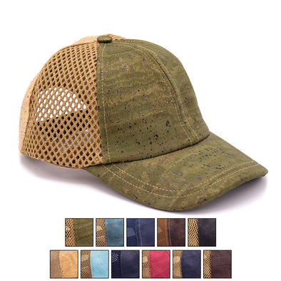 Colorful Cork hat natural cork Baseball cap L-508